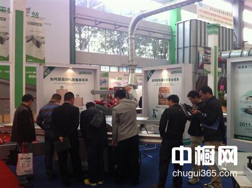 欧登多国亮相2013顺德(伦教)国际木工机械博览会获成功